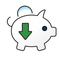 Reduced cost icon