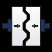 Thin wall icon